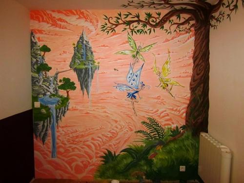 Décoration d'intérieur (fresque)