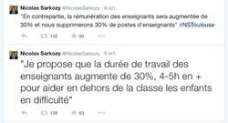 LA REVALORISATION DES ENSEIGNANTS SELON  NICOLAS SARKOZY