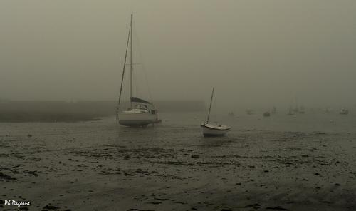 Groix... La mer s'est retirée..