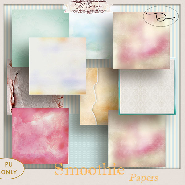 Smoothie Papier {DigiPack}