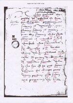 Charte de la fondation du prieuré du pont
