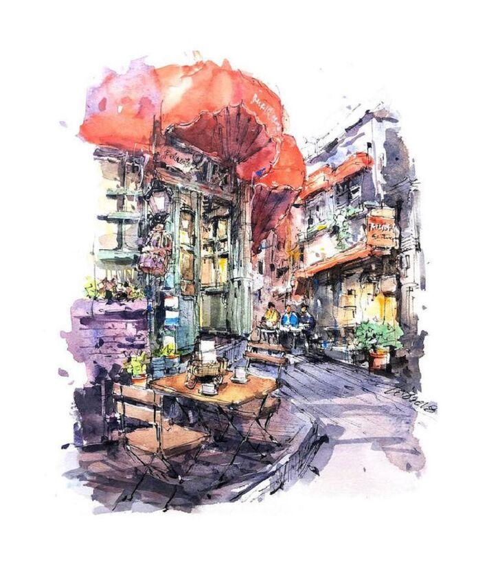 Le Charme des vieilles Villes asiatiques selon  Zhifang Shi (14)