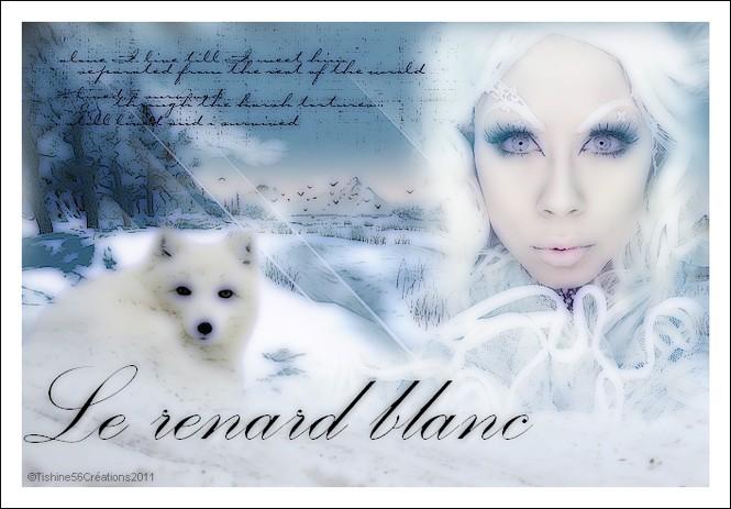 le renard blanc - défi chez la sorcière -