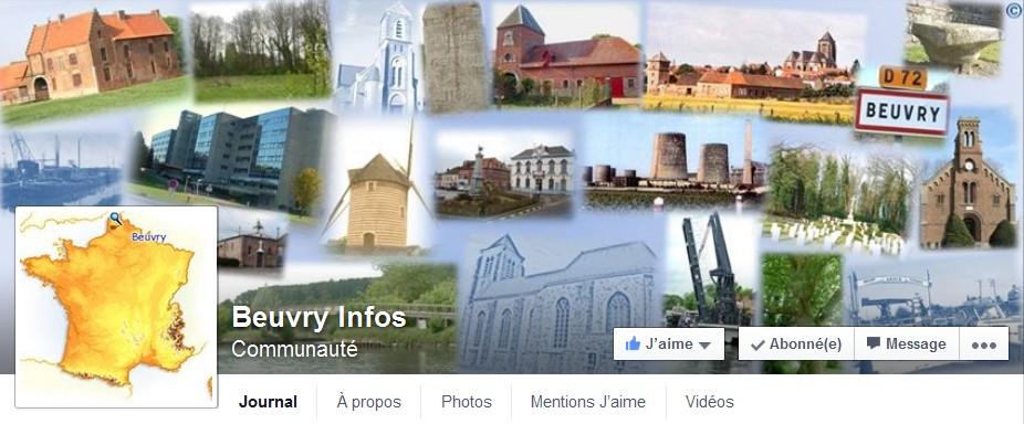 Actualité Beuvry Facebook
