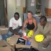 Burkina Bomborokuy L'école livraison du matériel