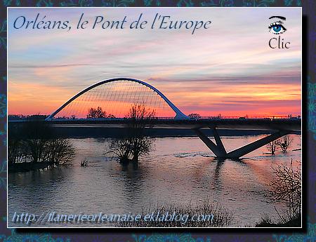 Orléans, le Pont de l'Europe