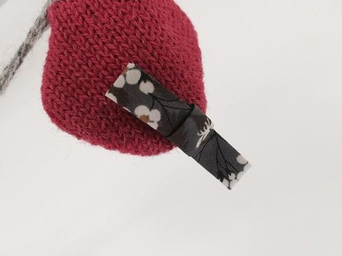 DIY: de jolies barrettes pour la rentrée.