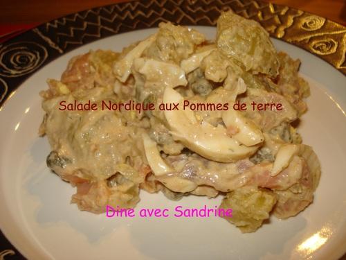 Une Salade Nordique aux Pommes de Terre