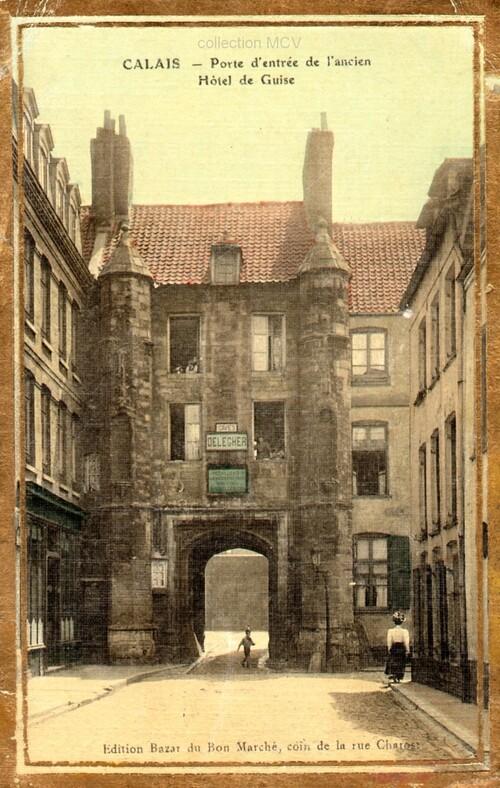 Rue de la Citadelle, hôtel de Guise et la citadelle