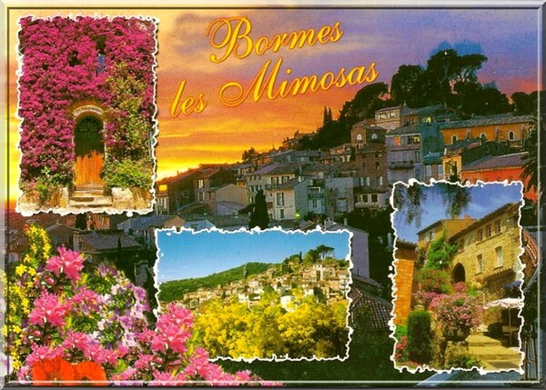 Bormes les Mimosas (83) Place St François