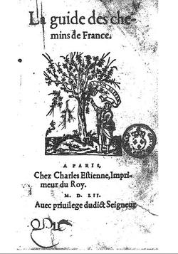 Guide des Chemins (1552)