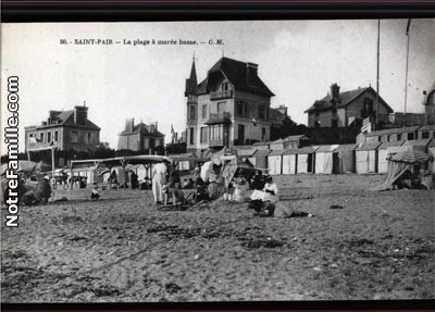 cartes-postales-photos-La-Plage-a-maree-basse-ST-PAIR-SUR-M