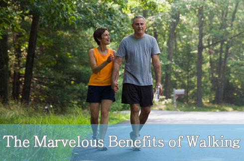 Marvelous Benefits of Walking