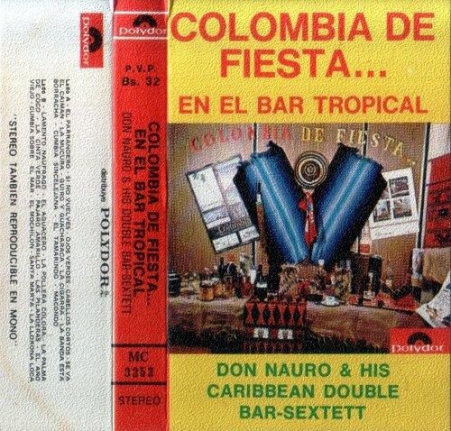 DON NAURO & HIS CARIBBEAN DOUBLE BAR-SEXTETT - Ojos Verdes - Cabellos Cortos