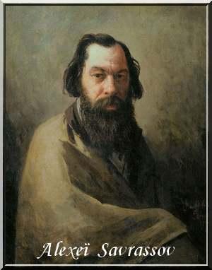 Peinture d'Alexeï SAVRASSOV