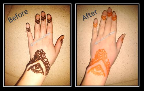 Tatouage au henné -Aïd el-Fitr 2018