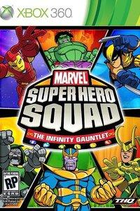 Marvel Super Hero Squad : Le Gant de l'Infini sur Xbox 360 est un jeu d'action mettant en scène les héros Marvel dans leur version cartoon. Le mode histoire vous propose d'incarner une petite partie des personnages à la recherches des pierres de l'infini tandis qu'un mode challenge jusqu'à quatre joueurs vous permet de faire votre choix parmi pas moins de trente héros de l'univers Marvel.  -----  Editeur(s) / Développeur(s) : Griptonite Games | THQ Sortie France : 19 Novembre 2010 Genre(s) : Action | Réflexion Classification : +7 ans Mode(s) : Jouable en solo