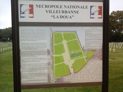 la Nécropole nationale de la Doua