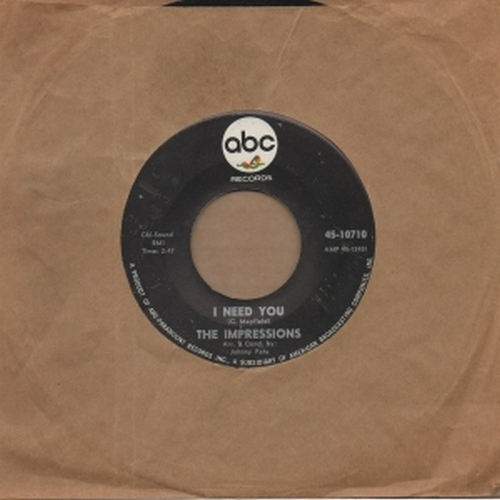 1965 : Single SP ABC Paramount Records 10710 [ US ]