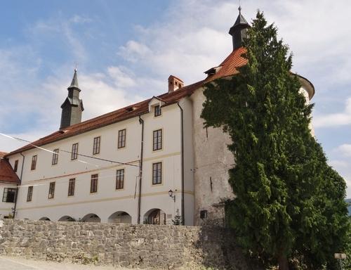 Le çâteau de Skofja Loka en Slovénie (photos)