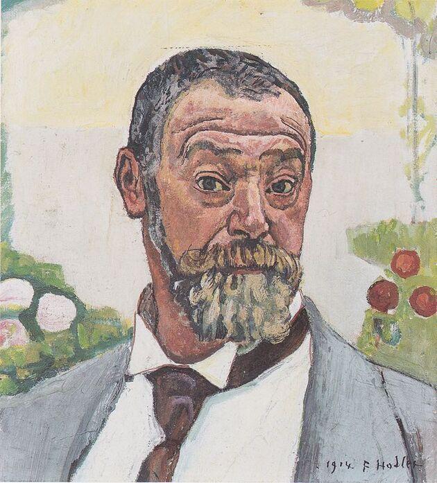 Hodler 2 /  autoportraits...