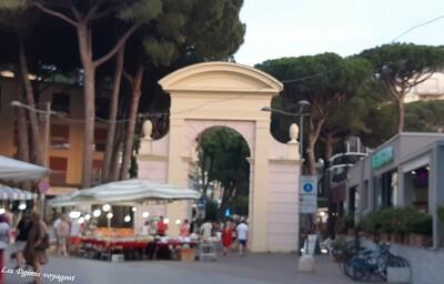 Passage en Italie