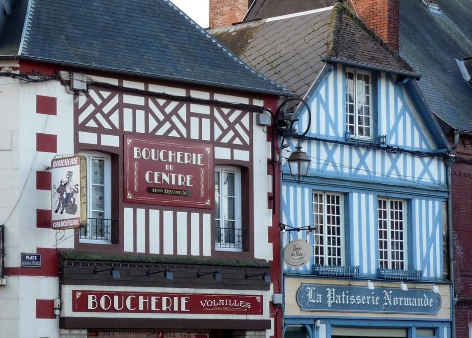 En Haute Normandie, le village d'AUFFAY