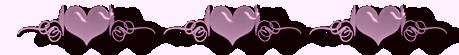 Barre de séparations coeur, amour