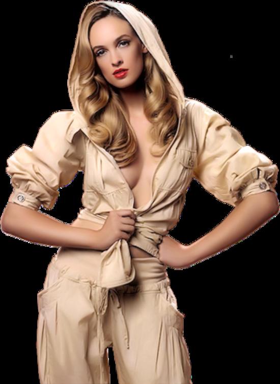 Femme buste / 45