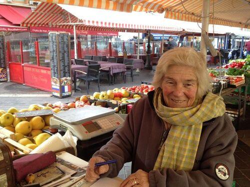 Le marché du cours Saleya