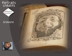 Portraits créatifs Gravure