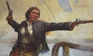 Une femme corsaire !!