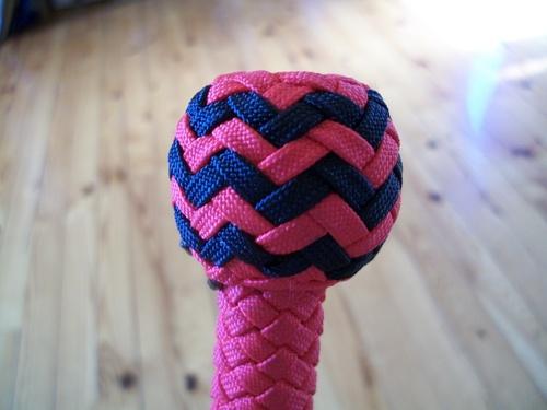 bullwhip nylon 3ft :conception pas à pas ( knots)