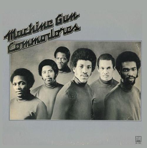 """Commodores : Album """" Machine Gun """" Motown Records M6-798S1 [ US ]"""