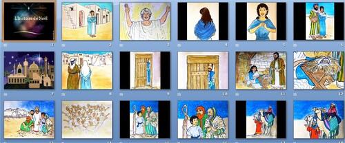 Diaporamas : Noël, la naissance de Jésus