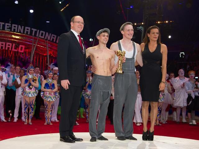 Remise des prix au festival international du cirque de Monaco (2/2)