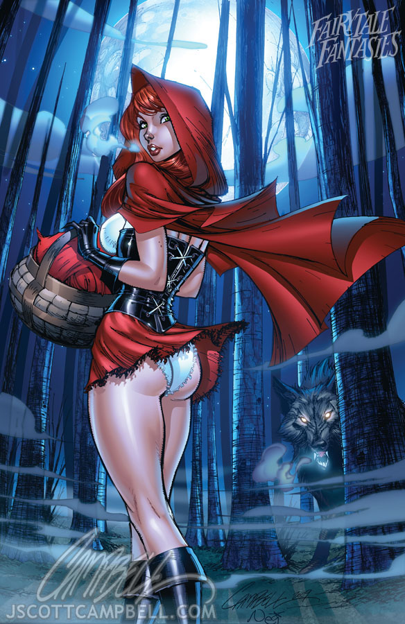 Not so little Red Riding Hood by J. Scott Campbell