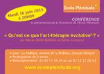 Communication école Plénitude/ conférence