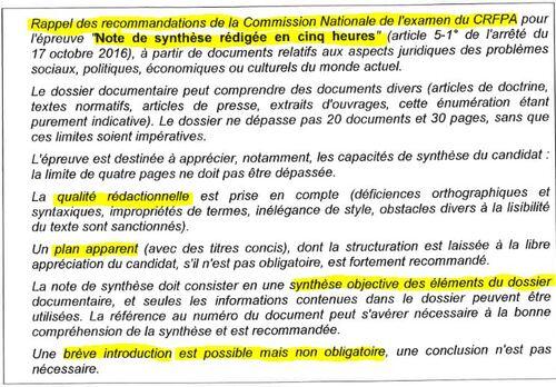 [PDF] Exemple de Note de Synthèse et Méthodologie