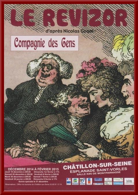 Le Revizor de Nicolas Gogol, par la Compagnie des Gens