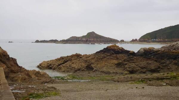 Gwin Segal à marée basse