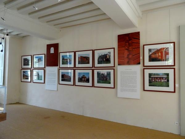 """""""Maisons rouges"""" une très belle exposition au château de Bussy Rabutin"""