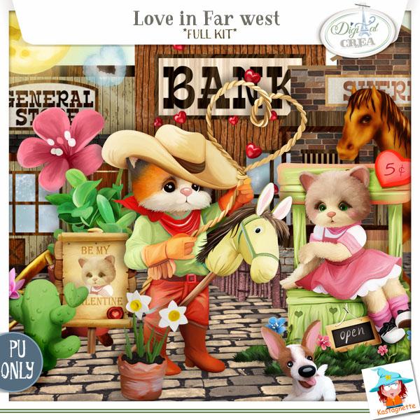 LOVE IN FAR WEST by KASTAGNETTE