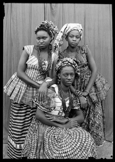 07 - Portraits africains en triple