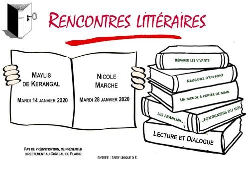Rencontres littéraires janvier 2020