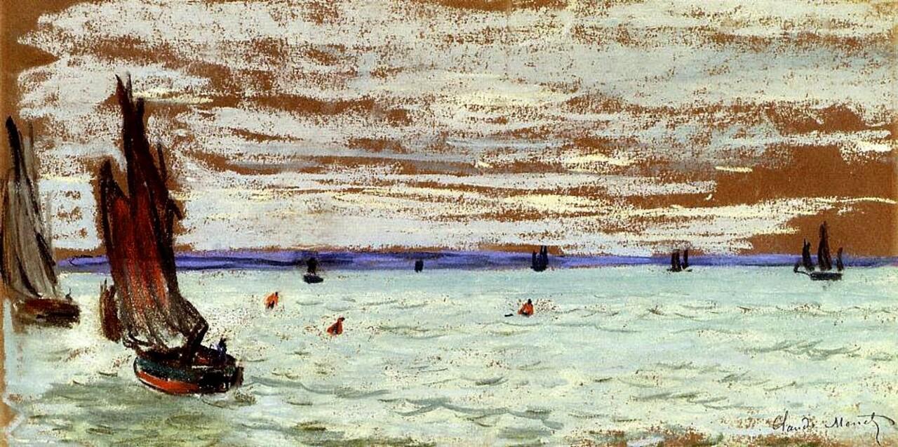 Monet /7/  1866 : Camille en robe verte ...