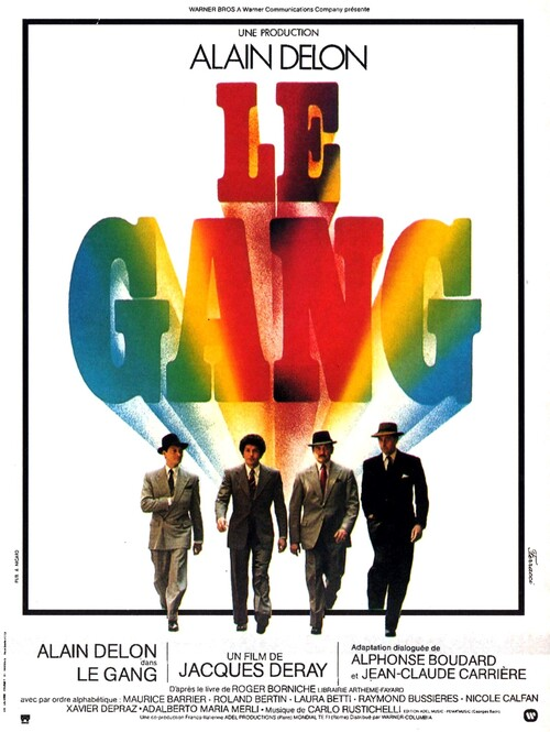 LE GANG - ALAIN DELON BOX OFFICE 1977