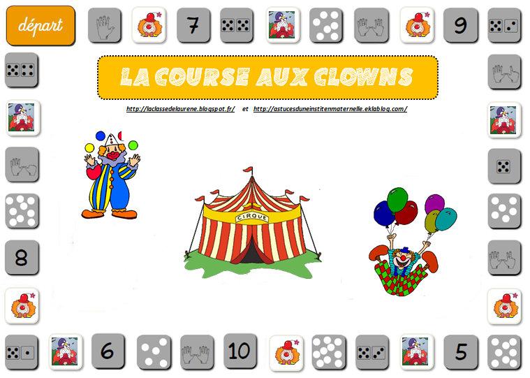 la course aux clowns astuces d 39 une instit en maternelle. Black Bedroom Furniture Sets. Home Design Ideas
