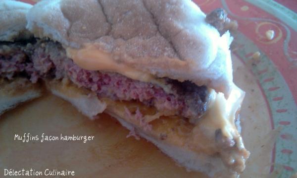 Muffins façon Hamburger et Muffins jambon/boursin