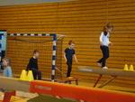 gymnastique à la traverse